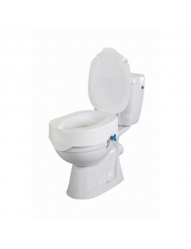 ASIENTO ELEVADOR DE WC REHOTEC 10 CMS CON TAPA