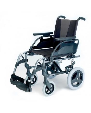 """Silla de ruedas Breezy Style de Sunrise con ruedas de 12"""" y Quick Release"""