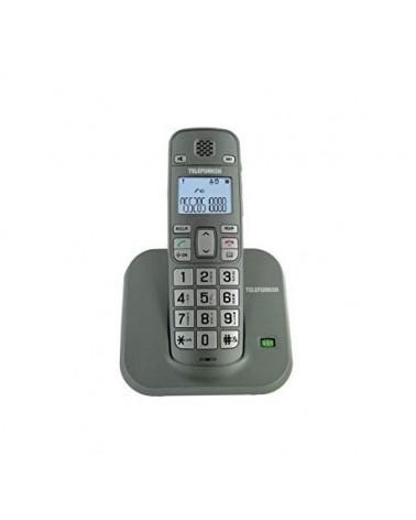 Teléfono inalámbrico teclas anchas (compatible con audífonos)