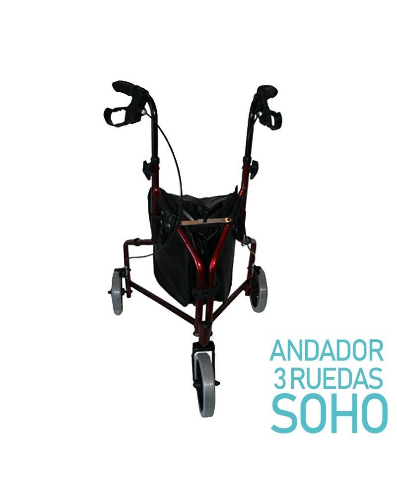 Rollator de 3 ruedas Soho