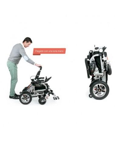 Silla de ruedas eléctrica plegable I-Discover Apex