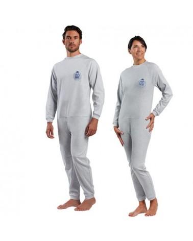 Pijama antipañal gris Talla 4. Hexaplus BEN85041404