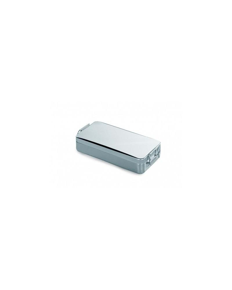 CONTENEDOR TAPA C/ASA Y CIERRE. AC/INOX 18/10 250X120X(H)60 ACE10012