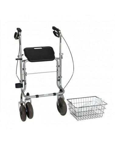Anadador rollator de 4 ruedas para adultos
