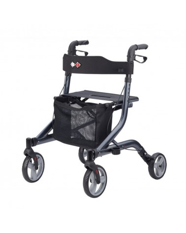 Andador de 4 ruedas Capero color azul