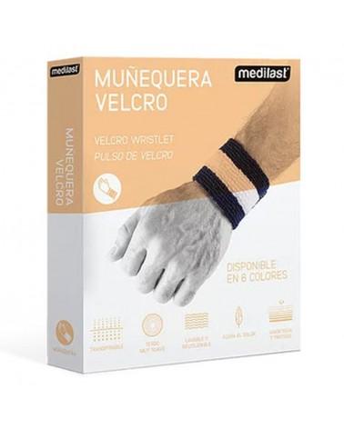 Muñequera con Cierre de Velcro | Beige