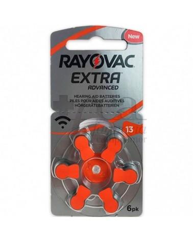 Pilas para Audífonos Rayovac Extra Advanced|Caja de 60 Pilas