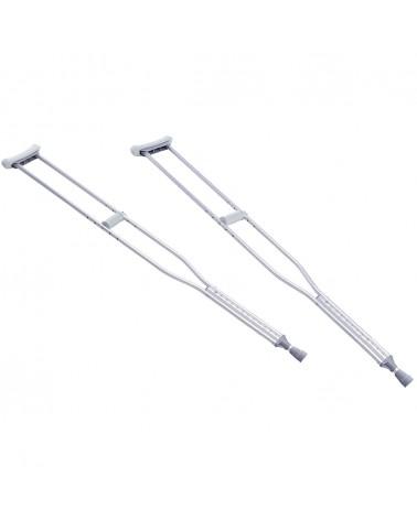 Muletas Axilares en Aluminio Anodizado