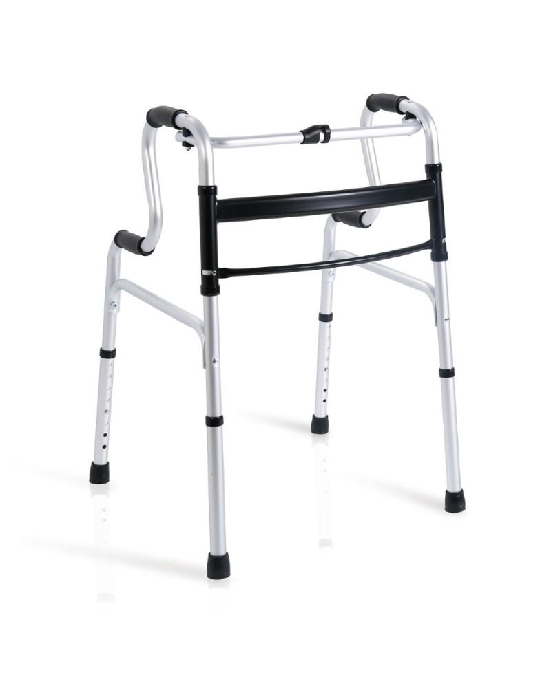 Andador Plegable en Aluminio Anodizado