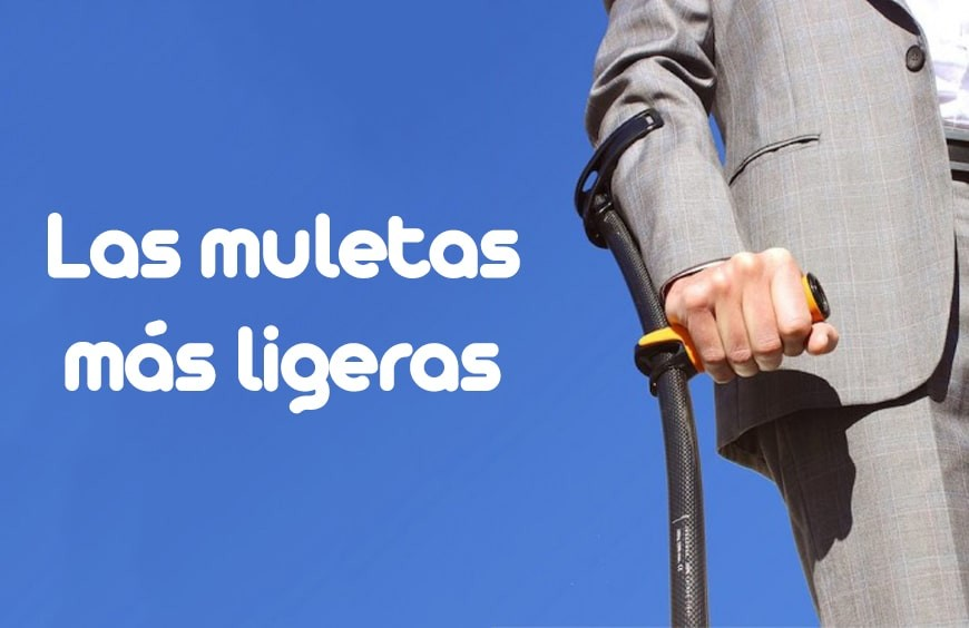 Las muletas más ligeras jamás creadas son 'made in Spain'