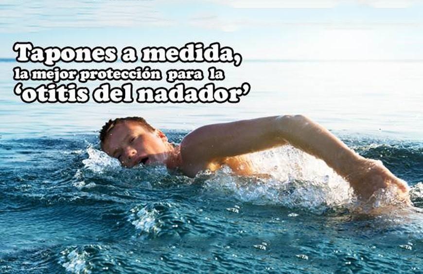 """Tapones a medida: la mejor protección para la """"otitis del nadador"""""""
