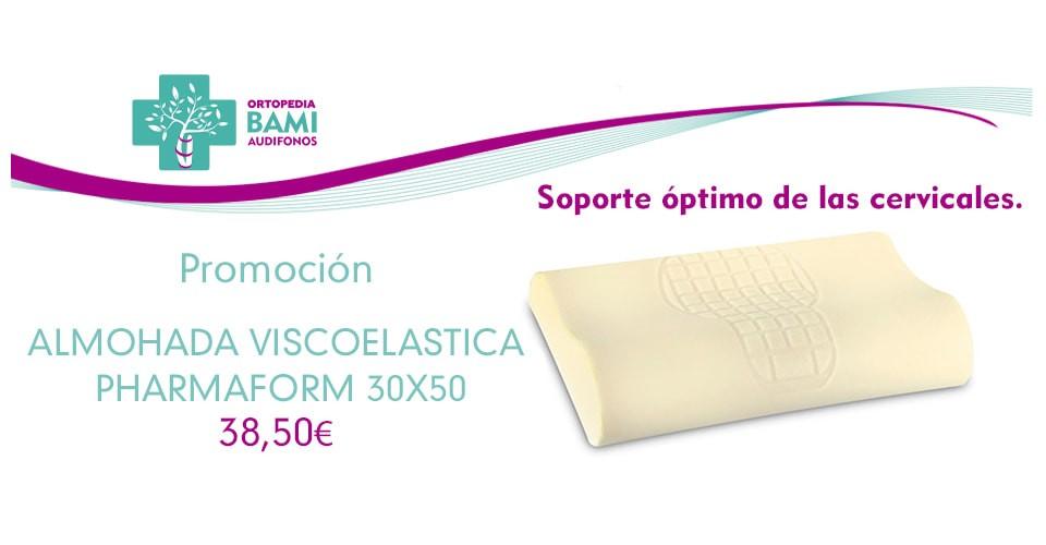 Promoción Almohada Viscoelástica Pharmaform 30x50